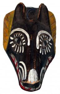 Animal mask from Guatemala