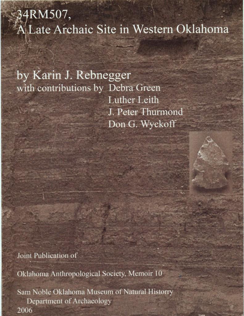 Karin J. Rebnegger A Late Archaic Site in Western Oklahoma