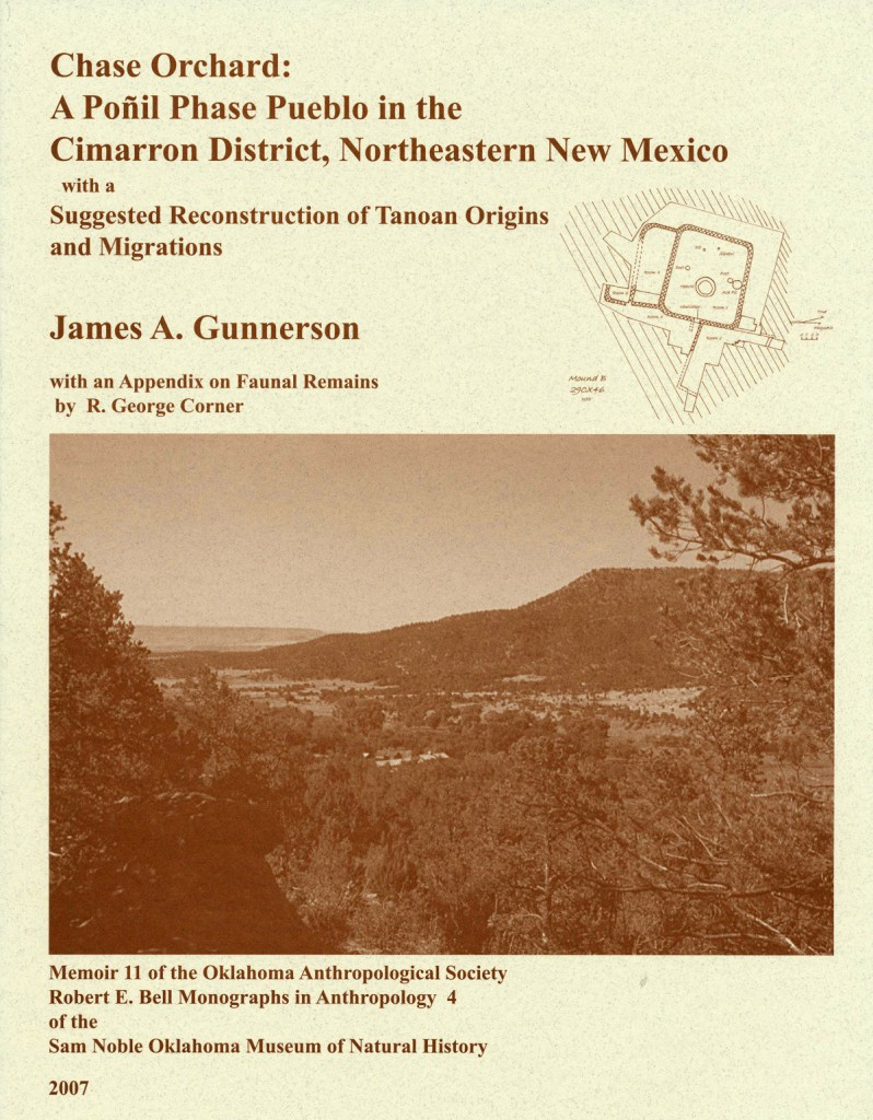 James A. Gunnerson Chase Orchard: Northeastern New Mexico