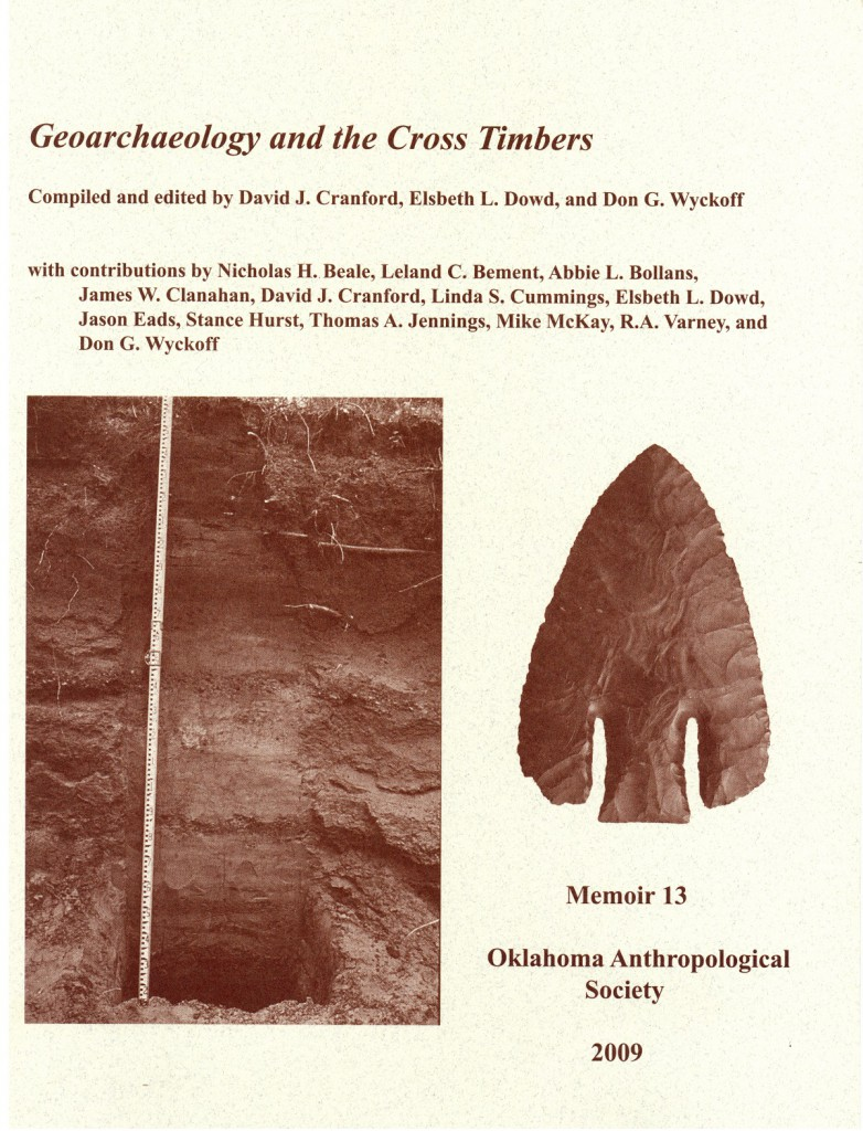 David J. Cranford Geoarchaeology and the CrossTimbers