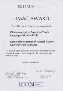 umac-award