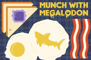 Munch With Megalodon