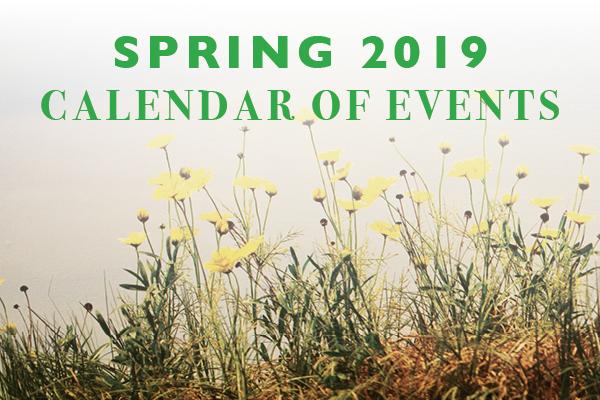 Link to Spring 2019 Calendar
