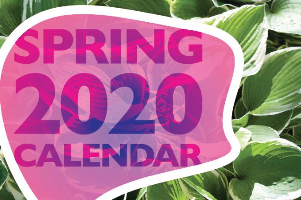 Spring 2020 Calendar