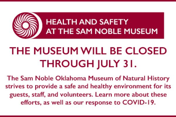 Link to Health and Safety at the Sam Noble Museum