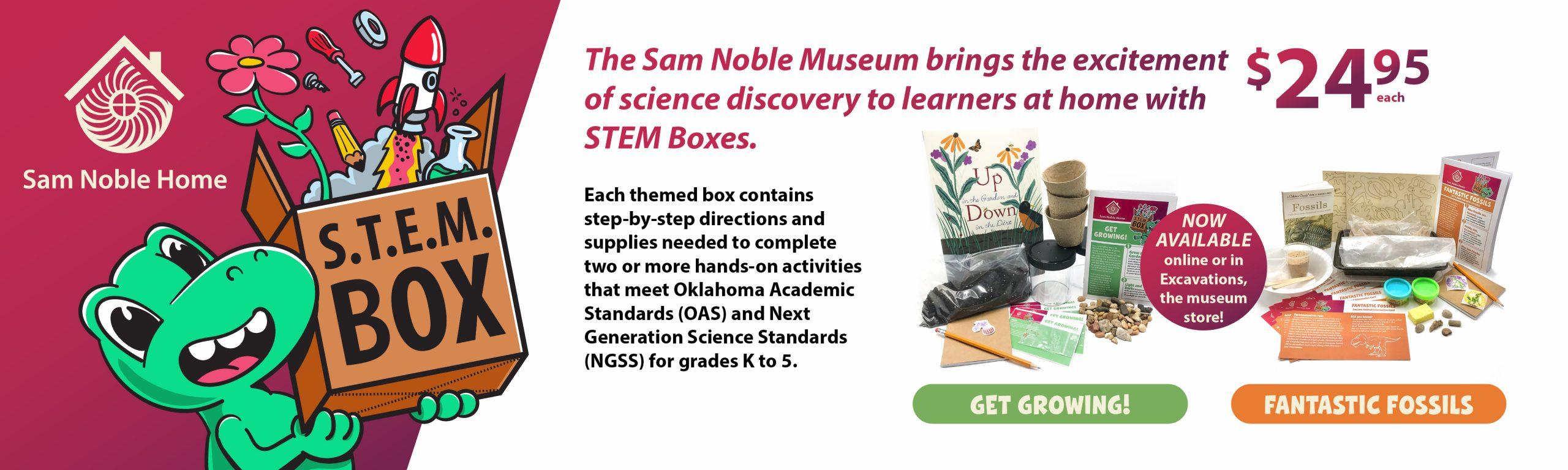 Stem Boxes Sam Noble Museum
